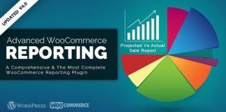 Advanced WooCommerce Reporting Nulled WordPress Plugin