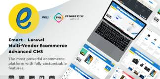 Emart Laravel Multi-Vendor Ecommerce Advanced CMS Nulled