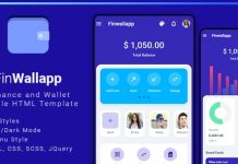 Finwallapp Mobile HTML Template Download