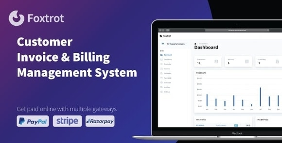 Foxtrot Customer Invoice and Expense Management System