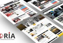 Gloria Multiple Concepts Blog Magazine WordPress Theme