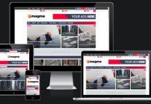 Magma Premium Version Responsive Magazine Blogger Template