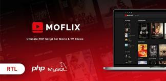 MoFlix Ultimate PHP Script For Movie and TV Shows Nulled