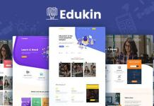 Edukin Education HTML Template Download