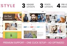Lifestyle Elegant WordPress Theme MyThemeShop