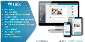 Link Net Core Social Network System PHP Script Nulled