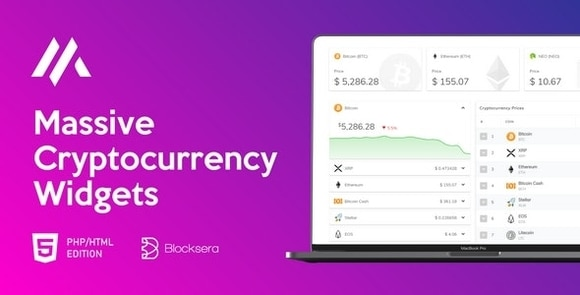 Massive Cryptocurrency Widgets PHP HTML Edition Nulled Download