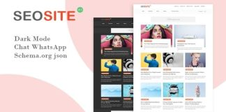 Seosite Premium Version Blogger Template