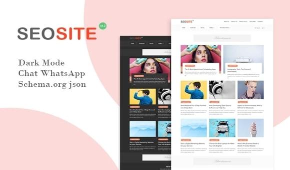Seosite Premium Version Blogger Template