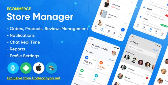 Store Manager React Native Application for Wordpress Woocomerce