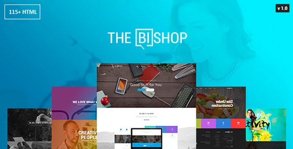 Bishop Multi-Purpose One and Multi Page HTML Template Download