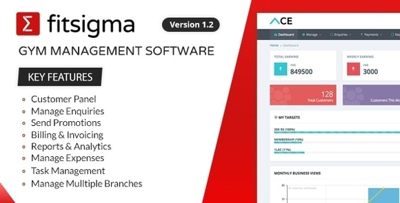Fitsigma Gym Management Software Nulled