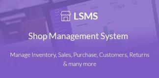 LSMS Shop Management System Nulled