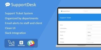 SupportDesk Support Ticket Management System Nulled