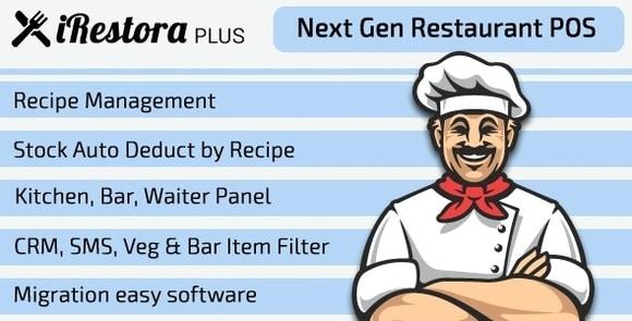 iRestora Plus Next Gen Restaurant POS Nulled