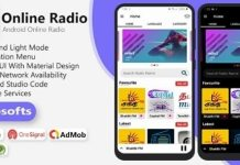 Android Online Radio App Source Code