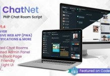 ChatNet PHP Chat Room and Private Chat Script