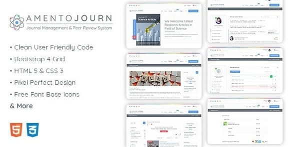 Journal Management and Peer Review System PHP Script