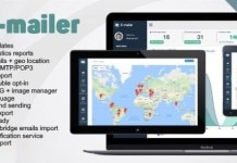 E-mailer Newsletter and Mailing System with Analytics Script