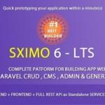 Laravel Multi Purpose Application CRUD CMS Sximo 6 Nulled
