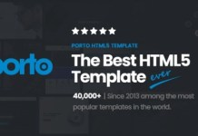 Porto Responsive HTML5 Template Download
