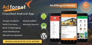 AdForest Classified Native Android App Source Code
