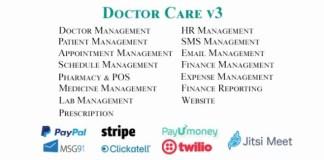 Doctor Care Diagnostic Center Doctors Chamber Management System