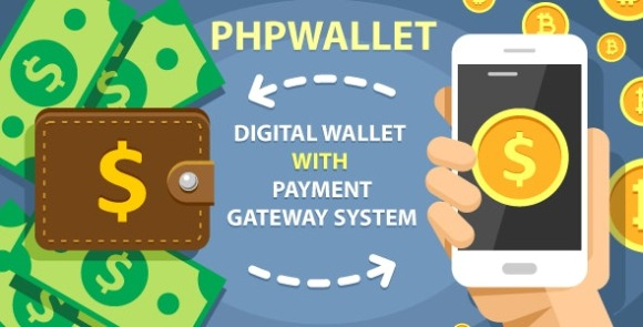 phpWallet e-Wallet and Online Payment Gateway System PHP Script