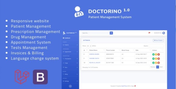 Doctorino Doctor Chamber Management System