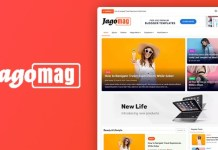 JagoMag Premium Magazine Blogger Template Download