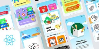 Kids Draws React Native App Surce Code
