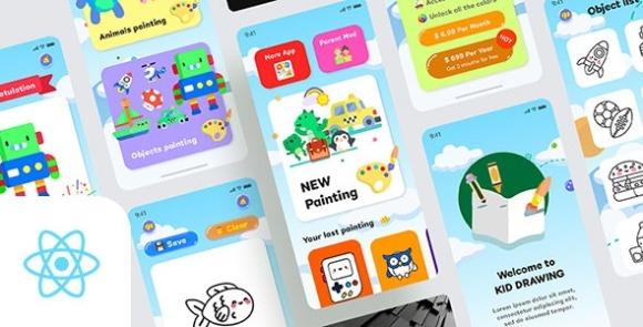 Kids Draws React Native App Surce Code