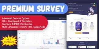 Puerto Premium Survey Builder SAAS PHP Script