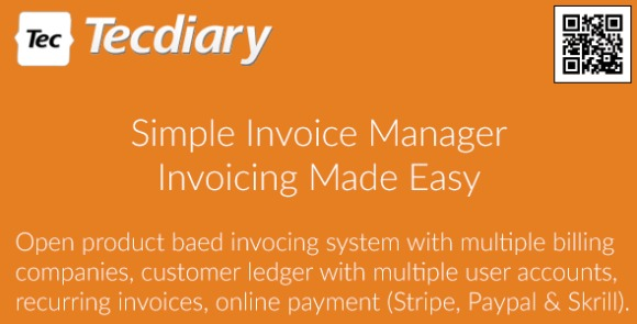 Simple Invoice Manager Invoicing Made Easy PHP Script