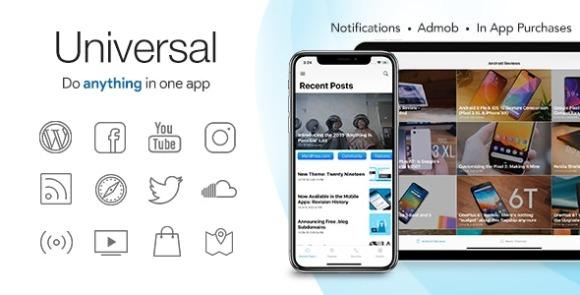 Universal for IOS Full Multi-Purpose IOS App Source Code