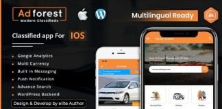 AdForest Classified Native IOS App