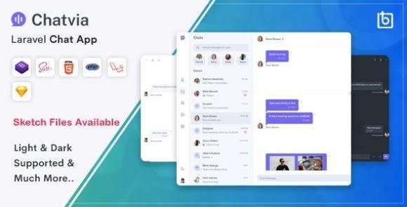 Chatvia Laravel Pusher Chat App Script