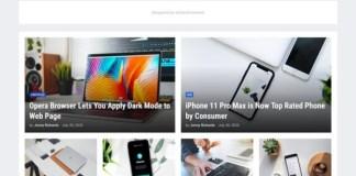 GNews Premium Responsive Magazine Blogger Template Download