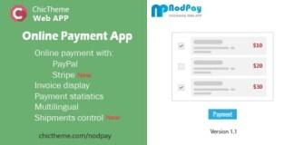 NodPay Online Payment App PHP Script