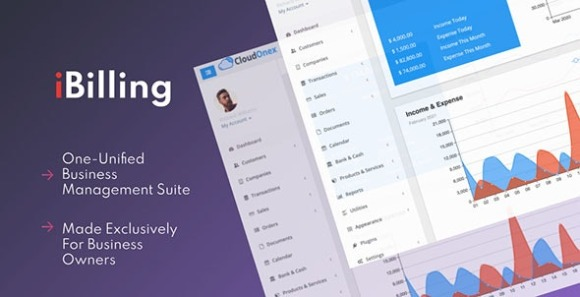 iBilling CRM Accounting and Billing Software
