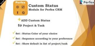 Add-on Statuses Module for Perfex CRM Addon