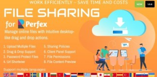 File Sharing for Perfex CRM Addon Nulled