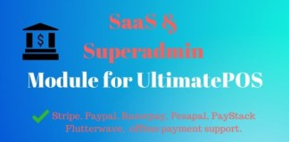 SaaS and Superadmin Module for UltimatePOS Advance Software