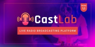 CastLab Live Radio Broadcasting Platform PHP Script