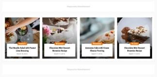 Foodify Elegant Food and Restaurant Premium Blogger Template