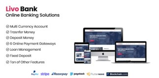 Livo Bank Complete Online Banking System PHP Script