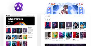 MUSICO Premium Music Download System with Website Script