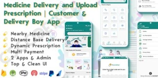 On Demand Pharmacy Delivery with Medicine Delivery and Upload Prescription