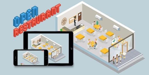 Open Restaurant HTML5 Game