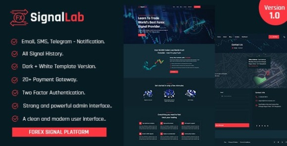 SignalLab Forex And Crypto Trading Signal Platform Nulled